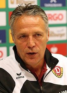 Uwe Neuhaus German footballer and manager