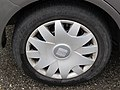 2017-09-19 (352) Firestone Firehawk 700 195-55 R 15 85 V tire and Seat Hubcaps at Bahnhof Melk.jpg