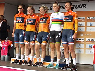 2017 UCI Women's World Tour - Image: 2017 Boels Ladies Tour 6e etappe 164