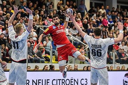 20180105 Men's handball Austria - Czechia Janko Bozovic 850 9203.jpg