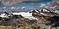 20180730 Kesselwandferner mit Fluchtkogel und Hochvernagtspitze, Ötztaler Alpen (06365).jpg