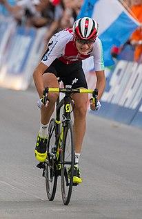 Alexandre Balmer Swiss cyclist