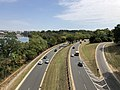 2019-09-16 13 31 58 View south along the George Washington Memorial Parkway from U.S. Route 29 (Francis Scott Key Bridge) in Arlington County, Virginia.jpg