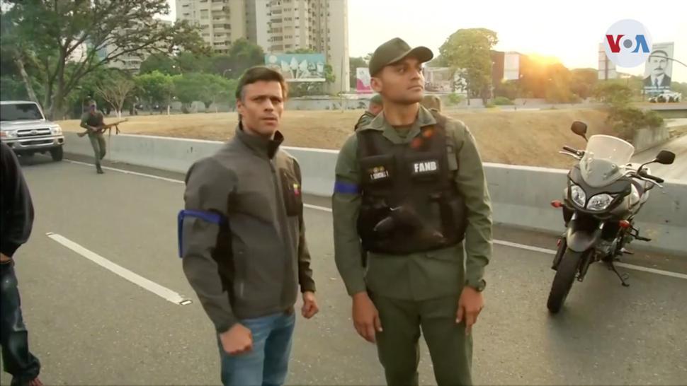 2019 Venezuela uprising - Leopoldo López