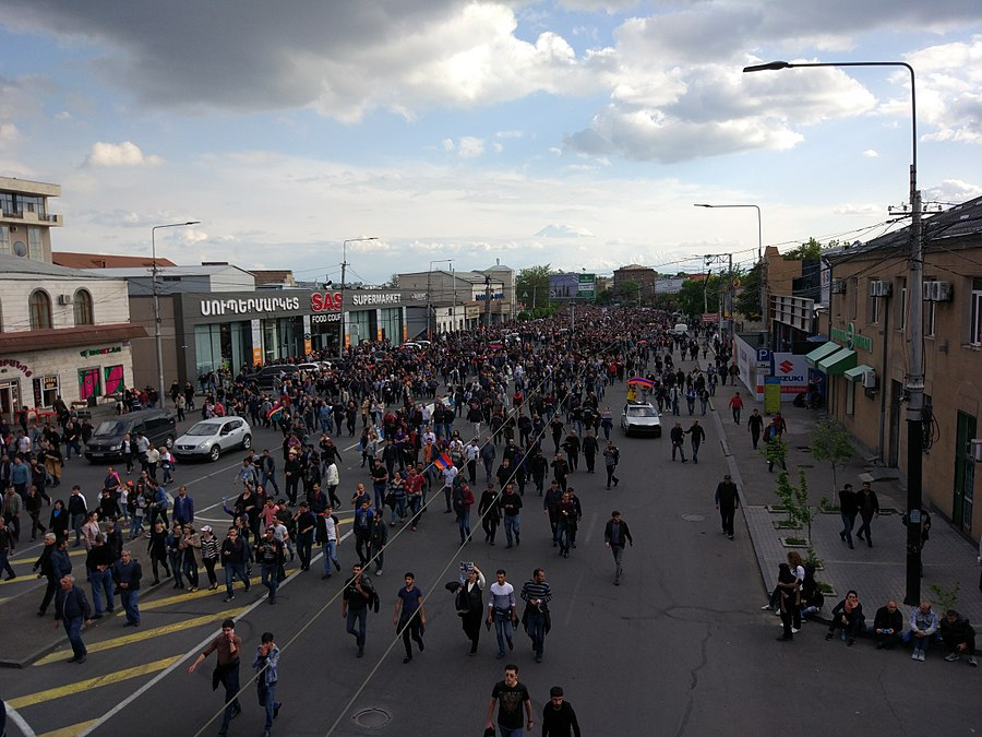 22.04.2018 Protest Demonstration, Yerevan.jpg