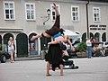 2215 - Salzburg - Mozartplatz - Dancers.JPG