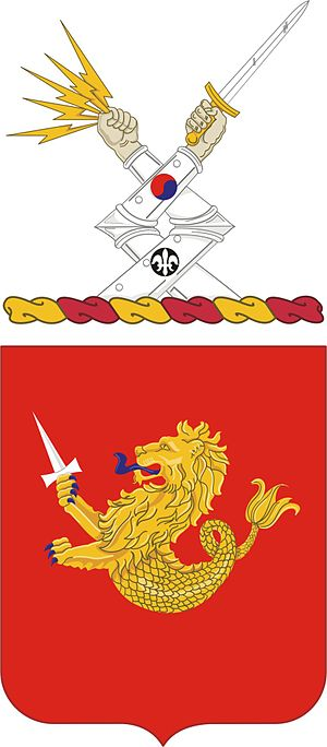 25th Field Artillery Regiment - Coat of arms