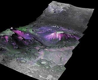 Syrtis Major Planum - Image: 260188 Jezero Crater Region Nili Fossae Trough