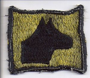 267th Chemical Company - Image: 267th Chemical Company Sentry Dog Qualification Patch