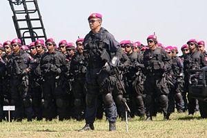 Denjaka - Denjaka unit during anti-terrorism exercise