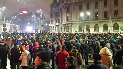29 January Romanian protest