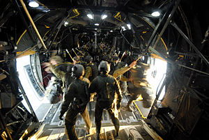 2nd Commando Regiment (Australia) - Commandos jump into Shoalwater Bay from a U.S. Air Force MC-130 transport during Exercise Talisman Saber 2011