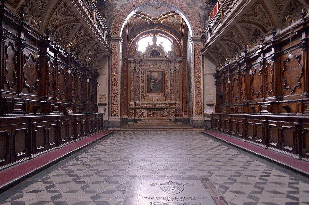 Sacrestia di san domenico maggiore wikipedia for Interno a un convento