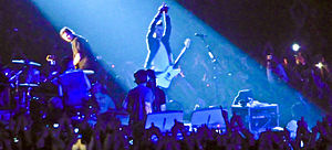 Thirty Seconds to Mars - Thirty Seconds to Mars playing in Manchester, England in February 2010