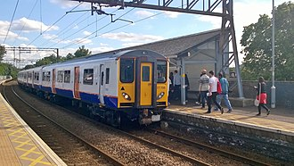 London Overground Rail Operations Limited - Image: 317708 at Seven Sisters