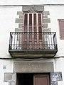 32 Casa al c. Marquès de Palmerola 25 (la Gleva), detall.JPG