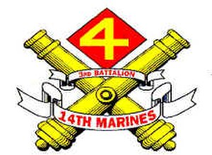 3rd Battalion, 14th Marines - 3rd Battalion, 14th Marine Regiment insignia