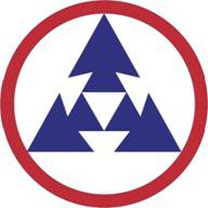 3rd Sustainment Command (Expeditionary) - 3rd ESC shoulder sleeve insignia