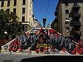 4035 - Milano - Graffito per Dax - Ponte sul Naviglio pavese - Foto Giovanni Dall'Orto, 7-July-2007.jpg