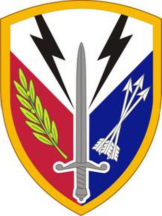 21st Theater Sustainment Command - Image: 405Spt Bde SSI