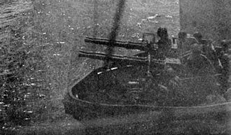 USS Montpelier (CL-57) - Starboard 40 mm gun