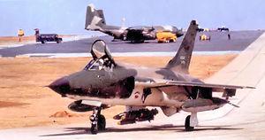 421st Fighter Squadron - Image: 421st Tactical Fighter Squadron F 105 Korat RTFAB