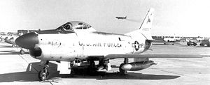 54th Fighter Group - 54th Fighter Group F-86 Sabre at Greater Pittsburgh Apt