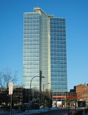Worcester Plaza - Image: 446 Main Street January 2014