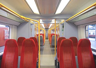 British Rail Class 458 - Image: 458502 DMSO Interior