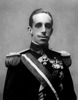 Alfonso de Bourbon - King Alfonso XIII in his youth