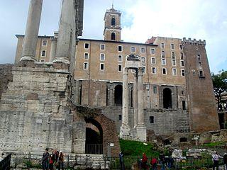 4701 - Roma - Fori - Tabularium - Foto Giovanni Dall'Orto - 18-Mar-2008.jpg