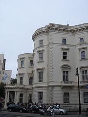 e328c82bc 49 Belgrave Square, residencia del embajador argentino en Londres. La  embajada se encuentra en el 65 Brook Street.