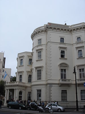 Sir Alfred Beit, 2nd Baronet - 49 Belgrave Square, Beit's London home