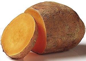 Sweet potato - Soft, orange-fleshed cultivar of sweet potato