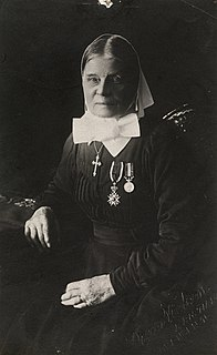 Cathinka Guldberg Norwegian nurse