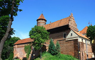 Olsztyn Place in Warmian-Masurian Voivodeship, Poland