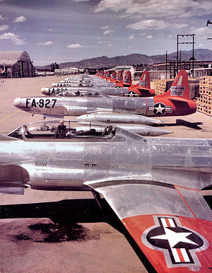 F-94 Starfire units of the United States Air Force - F-94B Starfires of the 66th Fighter-Interceptor Squadron, Elmendorf AFB, Alaska, 1952