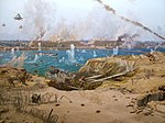 6th of October Panorama, part 4, the crossing of Suez.jpg
