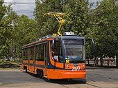 71-623 (KTM-23) tram in Ufa (on test route).jpg