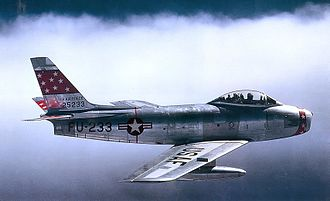 21st Space Wing - 72d Fighter-Bomber Squadron - North American F-86F Sabre - 52-5233