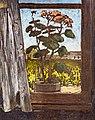 81 - Rosier et Vignes à Touny-les Roses - Georges Gaudions - Huile sur papier - Musée du Pays rabastinois - inv.2006.3.6.jpg