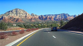 Arizona State Route 89A - SR 89A south of Sedona