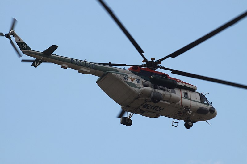 File:981 Mil Mi-8 HIP Republic Of Korea Police (7596806694).jpg