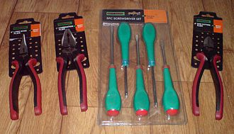 "99p Stores - Selection of own brand ""Do It Right"" DIY tools"