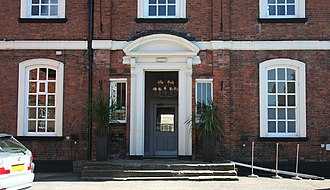 9 Mill Street, Nantwich - Detail of entrance and windows