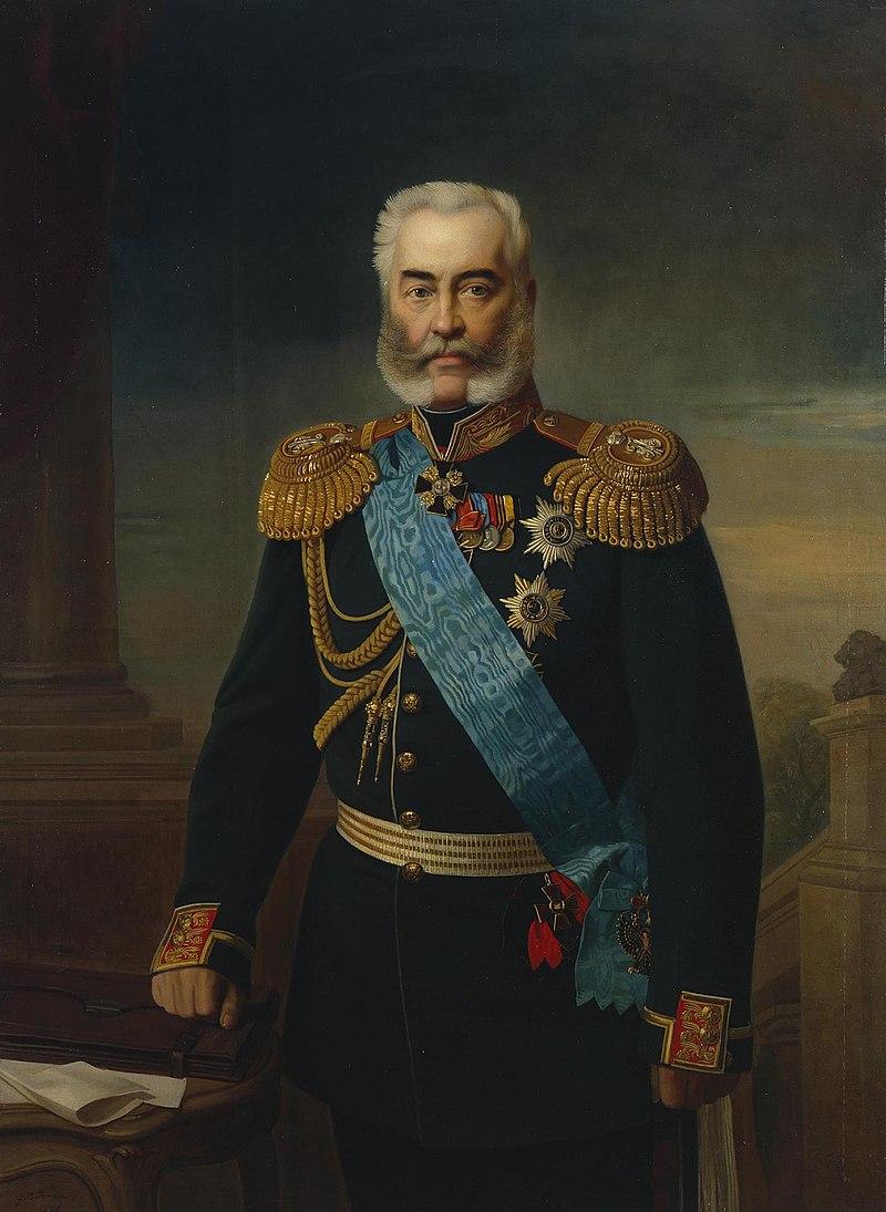 Александр Владимирович Адлерберг (портрет кисти Е. И. Ботмана)