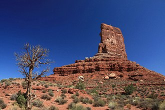 Valley of the Gods - Castle Butte