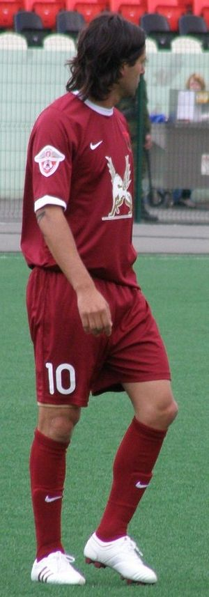 FC Rubin Kazan - Alejandro Domínguez, one of Rubin's most influential players since the team's inception in the Russian Premier League.