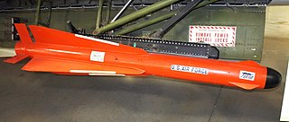 A US guided air-to-air missile