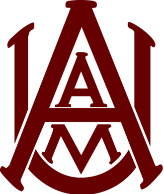 Alabama A&M Bulldogs basketball - Image: AL Ag Mech Univ logo